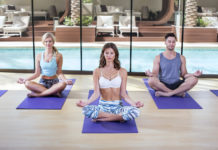 Red Rock spa Yoga Studio