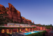 mii amo, enchantment, sedona