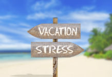 travel advice, vacation, stress