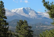 yoga and nature retreat, Estes Park, Colorado.