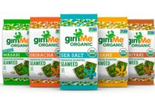 seaweed snacks from gimme organics