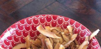 Coconut Crisps, Nicole's Table, Antigua