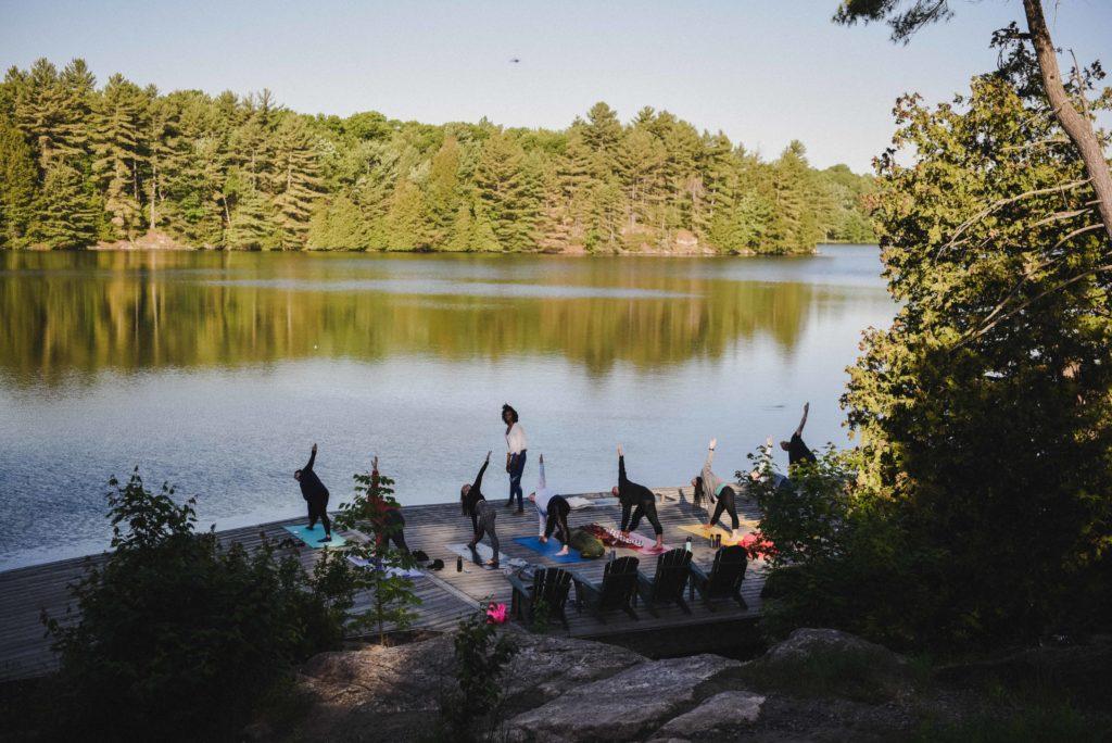 Camp Fuel, Muskoka, Ontario i
