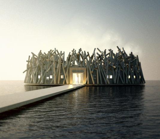 Floating Arctic Bath Hotel