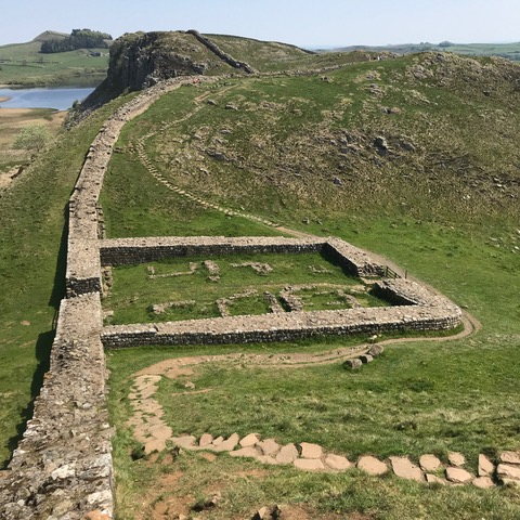 walking tour Hadrian's Wall