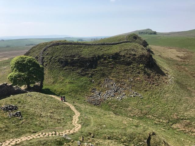 walking vacation Hadrian's Wall