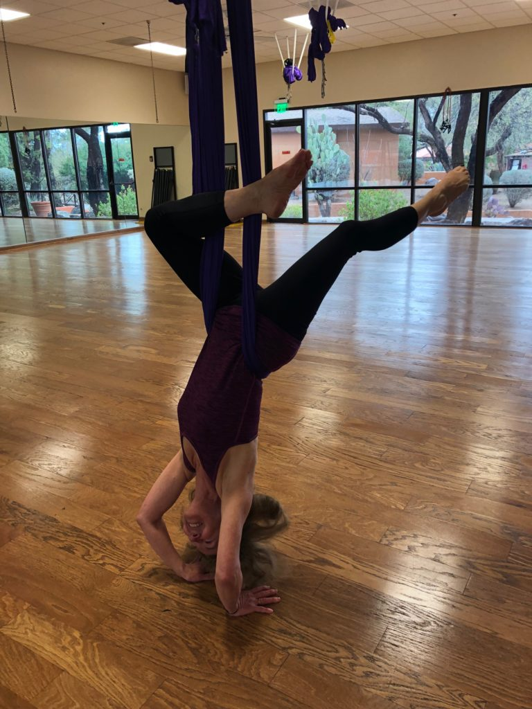 aerial yoga, canyon ranch, tucson
