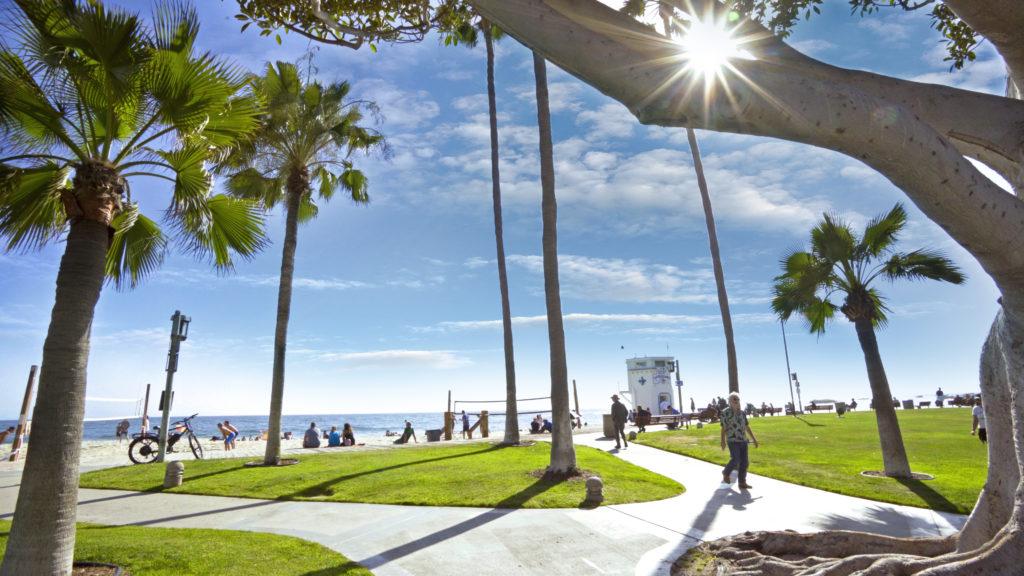Zen Pathway Laguna Beach