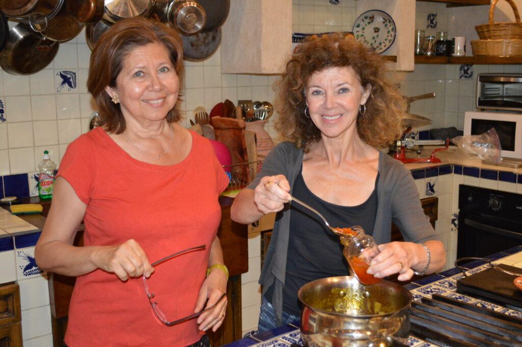 Gilda Carbonaro and Anne Dimon