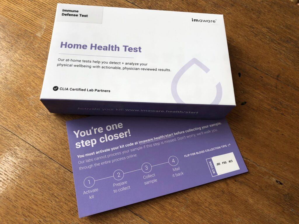 imaware at home medical immune system test